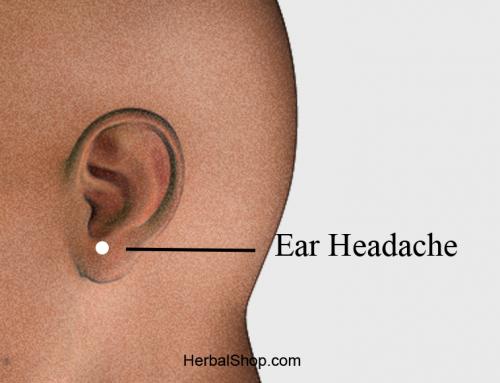 Acupressure Point Ear Headache