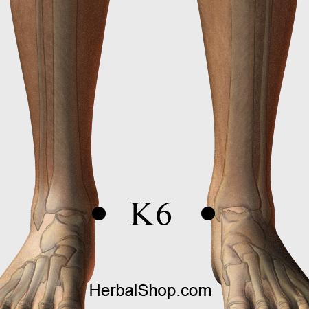Acupressure Point K6 – HerbalShop