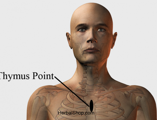 Acupressure Point Thymus point