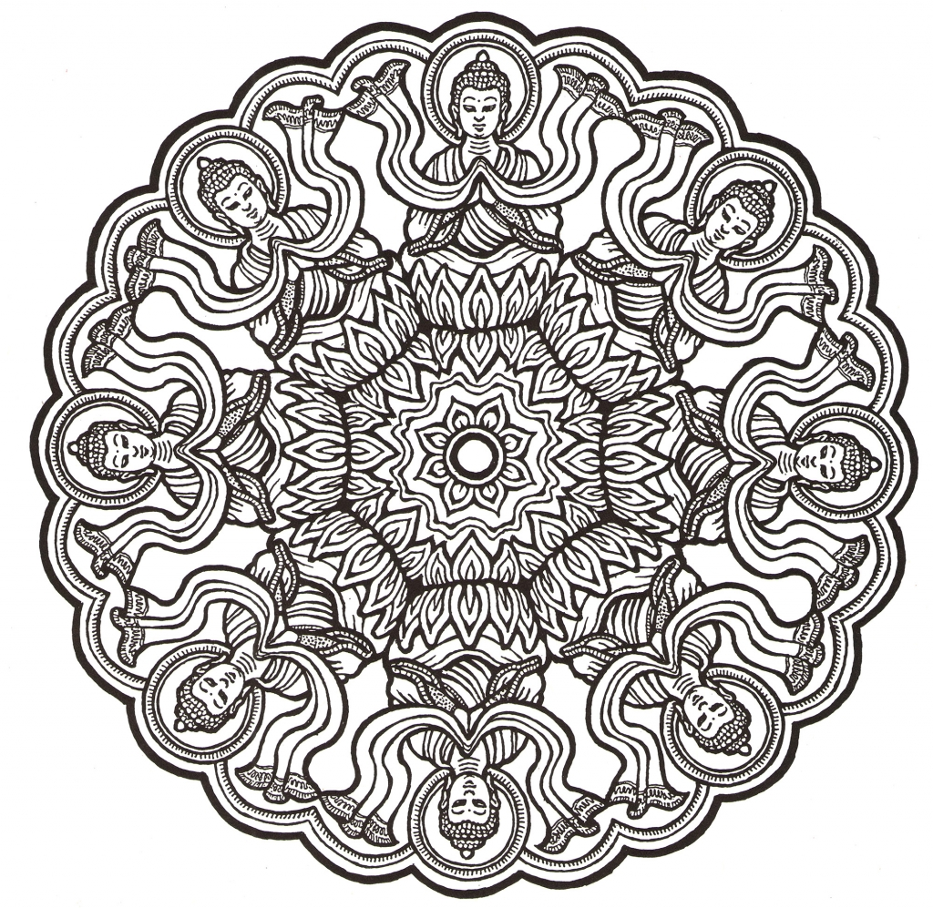 Color Me Happiness Mandalas for