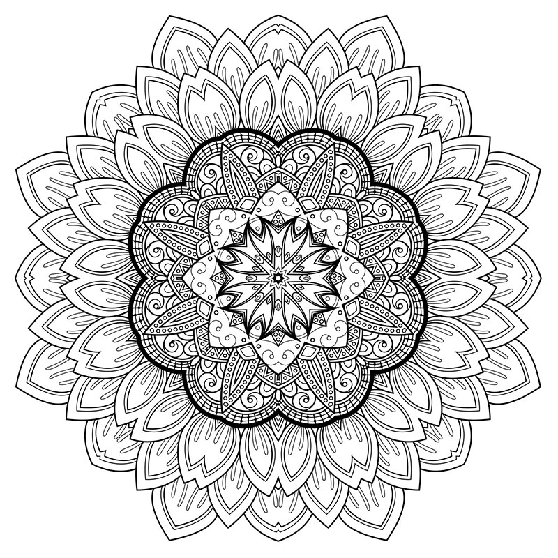 Free downloadable stress relief coloring arts herbalshop for Stress relief coloring pages online