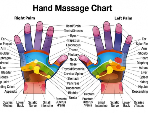 Free Downloadable Hand Massage Chart for Self Healing