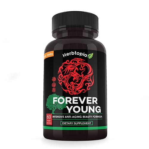Forever Young Beauty Supplement with Organic Jilin Ginseng